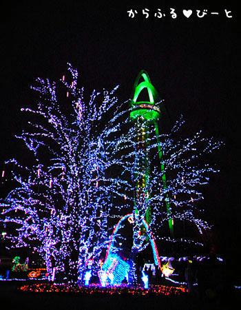 138タワーパーク「2012イルミネーション」