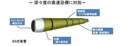 海自,そうりゅう級,そうりゅう,潜水艦,新型魚雷,12式魚雷,89式魚雷,S-20,S-20型潜水艦,