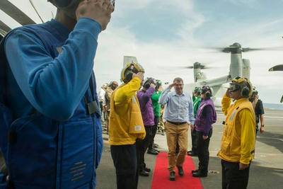 USS.TheodoreRoosevelt,米空母,南シナ海,カーター国防長官,USSセオドアルーズベルト,12カイリ,#SECDEF  #Malaysia