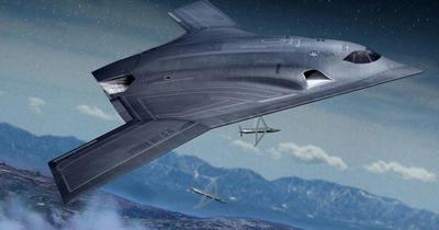 米空軍,新型爆撃機,LRSB,B2,B21,ノースロップグラマン,ステルス,爆撃機,無人機
