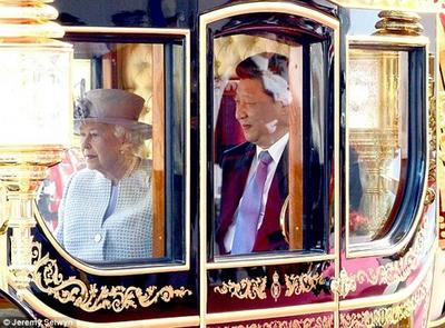 英国,エリザベス女王,国賓,中国,習近平,バッキンガム宮殿,QueenElizabethII, XiJinping,