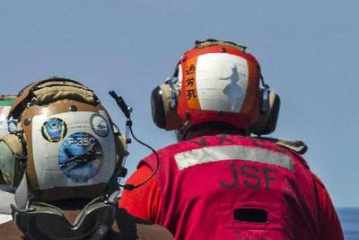 デッキクルー,米軍,レアマーキング,旭日旗,ヘルメット,Helmets,HUDM,JHMCS,米空母