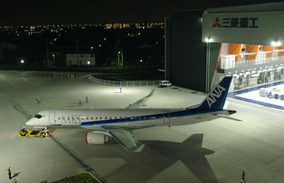 MRJ,米国,到着,日本,三菱,モーゼスレーク,グラン空港,型式証明,旅客機,FAA