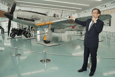 飛燕,三式戦,復活,川崎重工業,カワサキ,120周年記念展,くろがね四起,くろがね,
