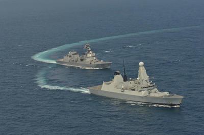 ガーディアンノース,デアリング,海自,英海軍,日英共同訓練,タイフーン,空自,RAF 護衛艦