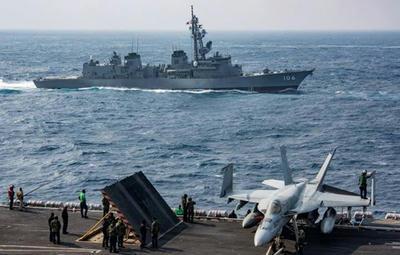 日米共同訓練,陸自,オスプレイ,演習,空母,海自,東シナ海,カールビンソン,米海兵隊