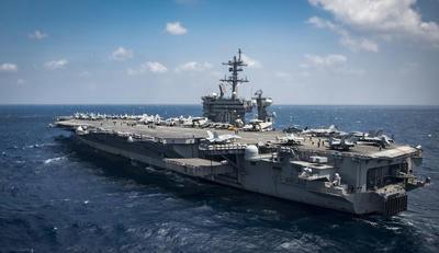 カールヴィンソン,米海軍,米空母,第一空母打撃群,第3艦隊,中国,西太平洋,南シナ海,北朝鮮