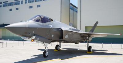国内生産初号機,小牧南工場,F35A,空自,ステルス戦闘機,ロッキード,第五世代機,ライトニングII,LightningII,三菱重工,戦闘機,日本