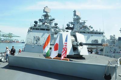 マラバール2017,さざなみ,DDH,いずも,海上自衛隊,米海軍,インド海軍,ニミッツ,空母,日本,アメリカ,インド