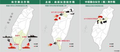 漢光34号,演習,台湾,軍事訓練,上陸,台湾国防部,東風41,DF41,核ミサイル,弾道弾,ベトナム,デモ,反中,