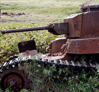 占守島,WW2,カムチャッカ,ソ連軍,ロシア軍,第2次大戦,戦車,戦車戦,チハ,97式戦車 ,