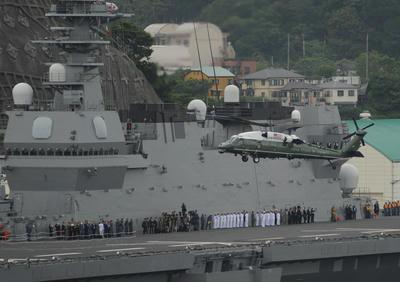DDH,かが,日仏豪米共同訓練,トランプ大統領,安倍首相,ラペルーズ,空母,シャルルドゴール,海戦,戦艦,護衛艦,乗り物,