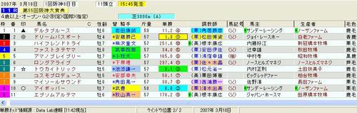 阪神大賞典印