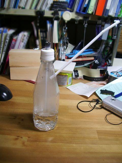 ペットボトル 自作水パイプ