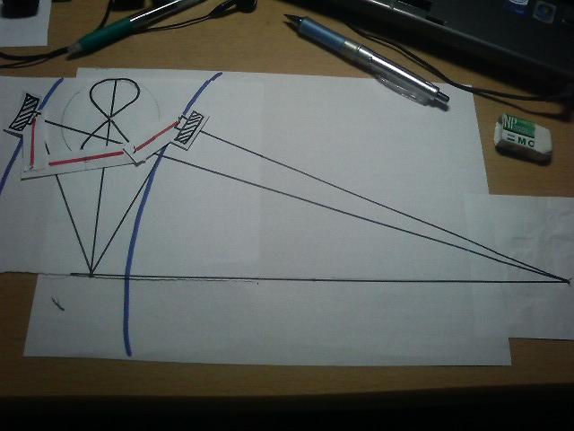 アッカーマン・ジャントー Ackermann Steering Geometry