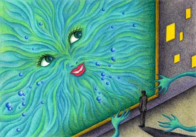 Science fiction Illustration, Images and Pictures - 「Temptation of mitochondria」