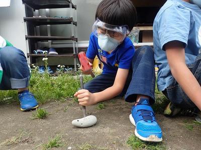 TIDEPOOL 「かたち」 石を彫る、磨く