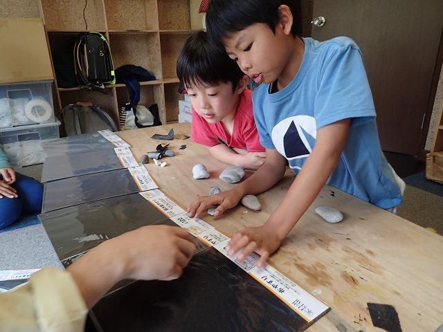 TIDEPOOL 「かたち」 石を磨く
