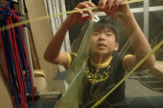 TIDEPOOL「かたち」 手作り凧を作ろう!