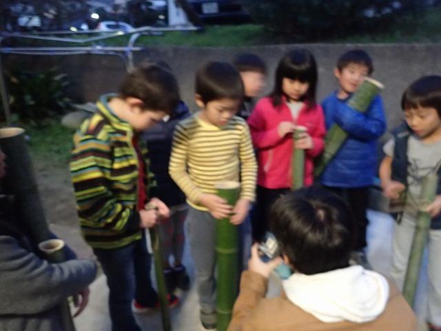 TIDEPOOL「かたち」 竹でクリスマスツリーを作ろう!
