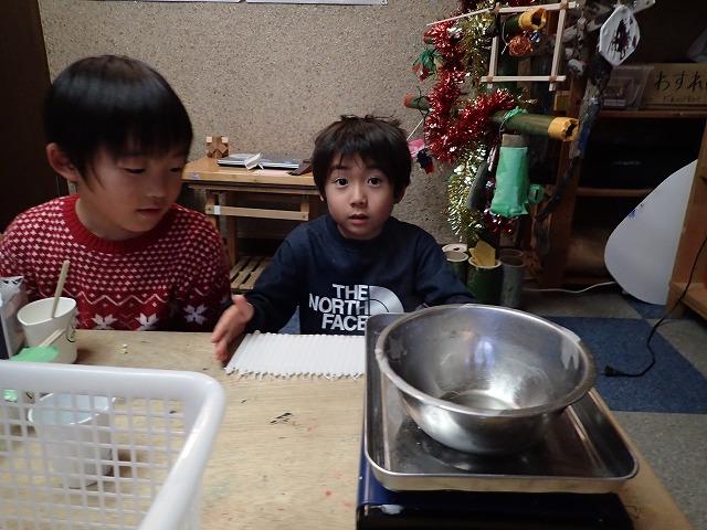 TIDEPOOL「かたち」 クリスマスキャンドルを作ろう!