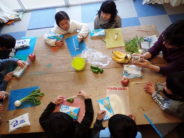 TIDEPOOL「かたち」 果物、野菜を粘土でつくろう!