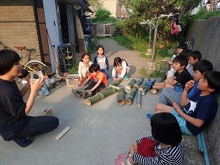 月曜日かたち「竹の食器作りからひろがる制作」