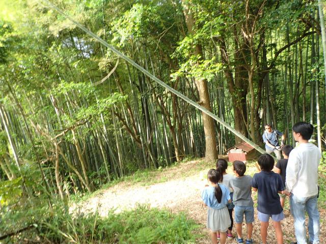 月曜日 かたち「竹筏プロジェクト!材料集め」