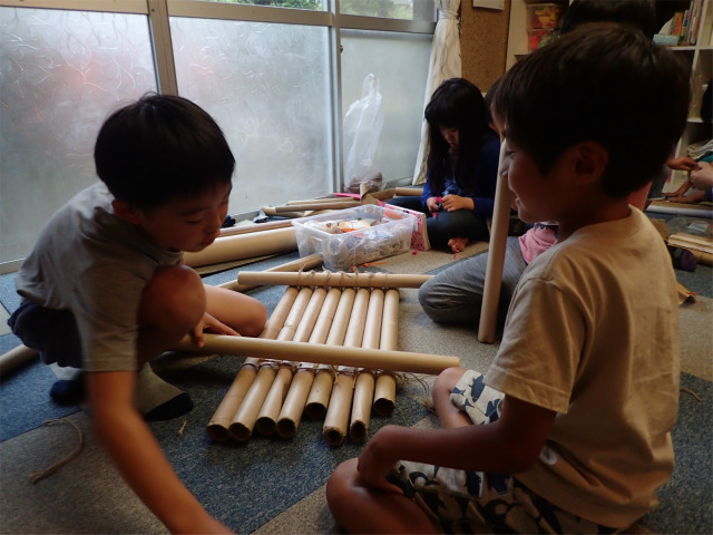 月曜日かたち「竹筏プロジェクト!シミュレーション編」