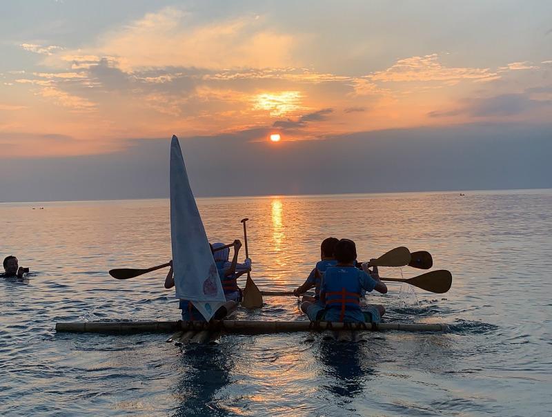 月曜日かたちクラス 「竹筏プロジェクト いざ、出航!」