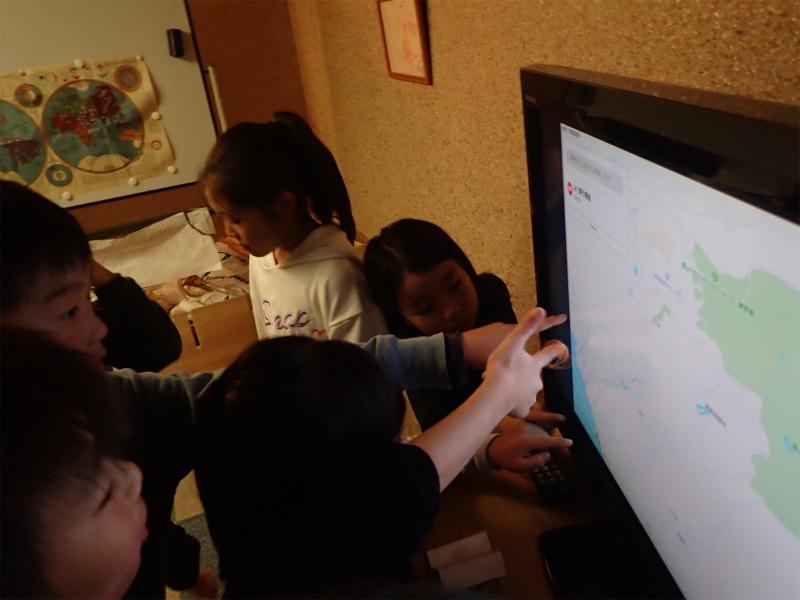 月曜日かたちクラス 「地図を描こう!」