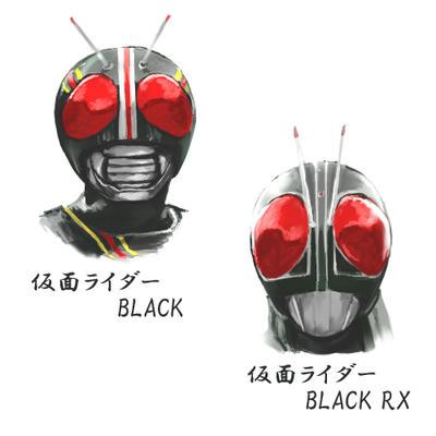Wブラック
