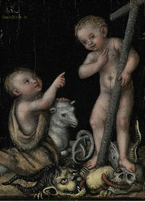 Lucas Cranach the Elder and Studio, The Infant Christ and Saint John the Baptist Christie's