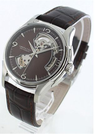 huge selection of 3b960 40776 ハミルトン 腕時計 ジャズマスター オープンハートを通販で購入 ...