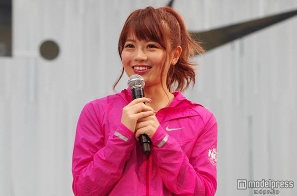 【エーライツ モデル】鈴木あや「名古屋シティマラソン2015」初挑戦に気合アピール