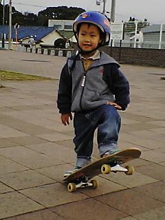 07年 三男  滑り初め