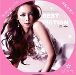BEST FICTION 安室奈美恵 / LALA自作DVDジャケット