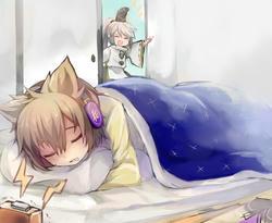 眠り神子様