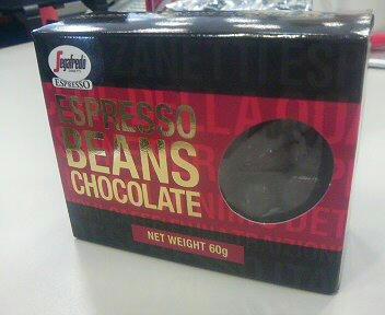 ESPRESSO BEANS CHOCOLATE