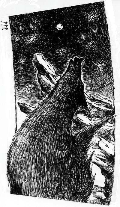 オオカミ。