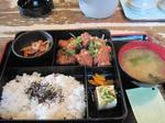 ぢどり亭 北浜店の鶏唐揚ネギソース定食