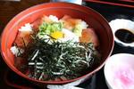 レストラン「舟屋」の伊根ぶり丼