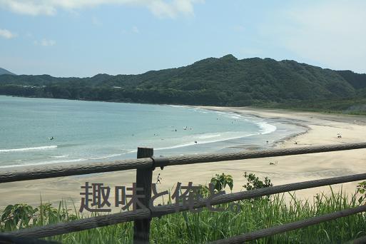 波乗り 大岐の浜 140823