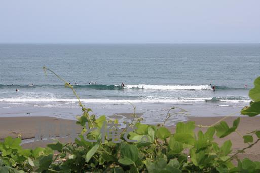 波乗り 平野ビーチ 140824