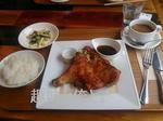 『odori』のチキンステーキ