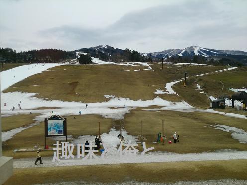 スノーボード in スキージャム勝山