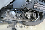 アドレスV125G ドライブベルト交換