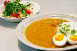 タイカレー&シーフードサラダ