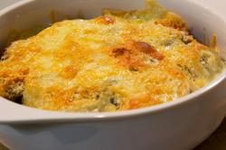 ポテトのカレーチーズ焼き