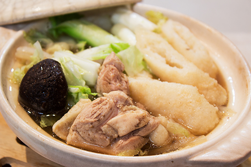 きりたんぽ入り白菜鍋